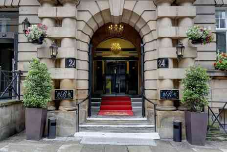The Richmond Hotel - Four Star Overnight Liverpool city break for two people with breakfast and a bottle of Prosecco to share - Save 35%