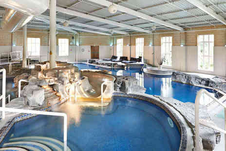 Slaley Hall - Luxury spa day with a choice of two 25 minute treatments and a three course lunch for one person - Save 58%