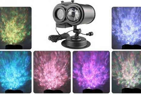 CN Direct Biz - Double Head Outdoor Christmas Led Projector Light with 16 Slides - Save 73%