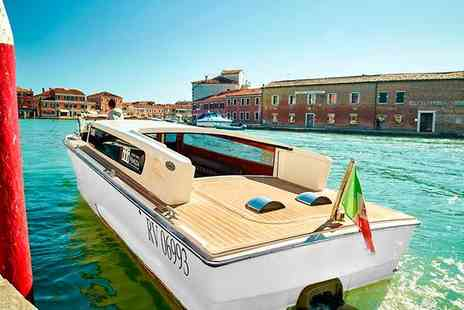 Hyatt Centric Murano Venice - Four Star Elegant Design Hotel Overlooking Muranos Grand Canal for two - Save 77%
