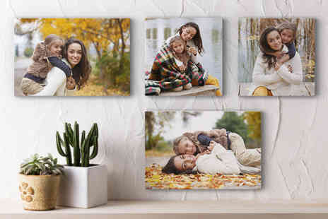 Photo Gifts - Medium personalised photo canvas - Save 66%