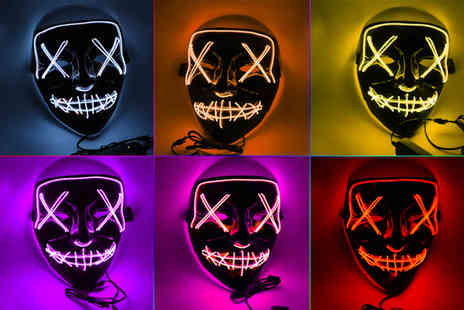 Suzhou Dashijie Electronics Co - Halloween Led light up mask - Save 80%