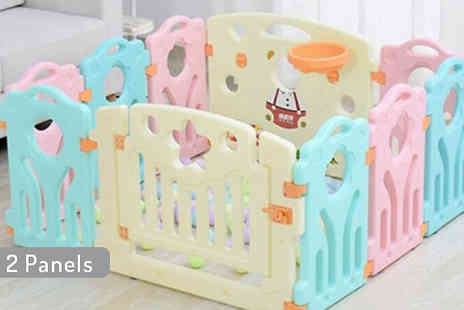 CN Direct Biz - Plastic Baby PlayPen Available in 4 Sizes - Save 80%