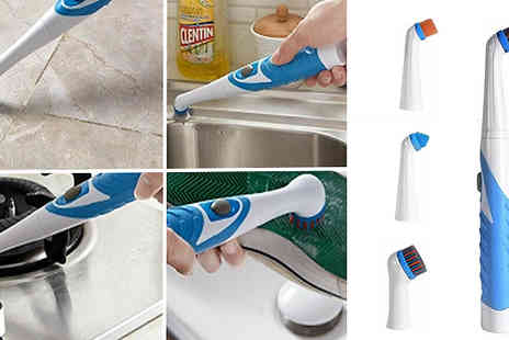 Home Season - 4 in 1 Sonic Scrub Cleaning Brush - Save 55%
