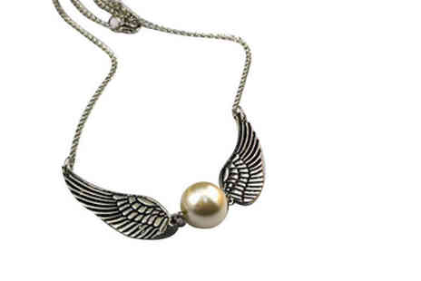 Forever Cosmetics - 3 Magic Inspired Angel Wings Necklaces - Save 83%