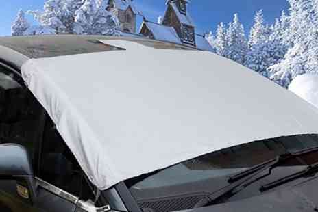 Groupon Goods Global GmbH - One, Two or Three Magnetic Windscreen Frost Protector Covers - Save 73%