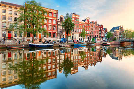 Super Escapes Travel - Two nights Amsterdam city break with return flights - Save 23%