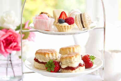 Hustyns Hotel and Spa - Afternoon tea for two with all day spa access - Save 52%