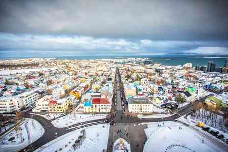 Exclusive Luxury Breaks - Escape with a three, four, five or six nights getaway to Reykjavik Now with the ability to choose your flight - Save 0%