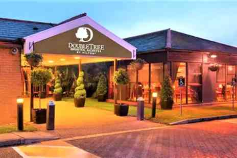 DoubleTree by Hilton Hotel Bristol North - Room for Two with Breakfast, Prosecco, Dinner, Spa and Leisure - Save 51%