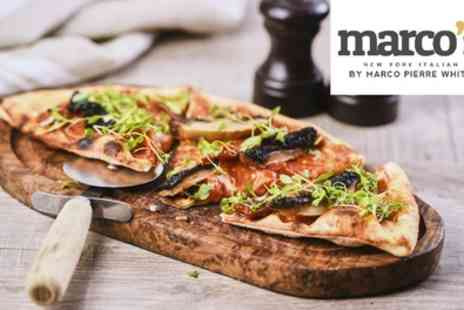 Marcos New York Italian - Two Course Meal for Two - Save 50%