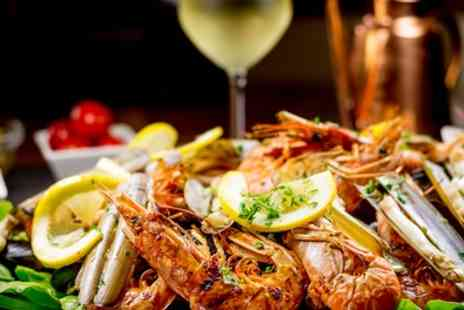 The Jolly Sailor - Seafood Spread with Glass of Bubbly Each for Two or Four - Save 47%