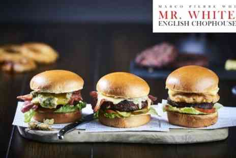 Mr Whites English Chophouse - Two Course Meal for Two - Save 50%