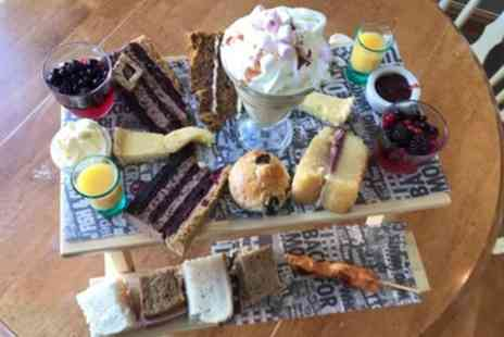 Mad Nanas Tearoom - Hot Chocolate Afternoon Tea for Two or Four - Save 33%
