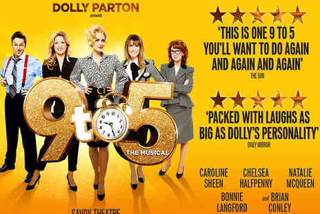 OMGhotels - One night London stay with breakfast and tickets to 9 To 5 The Musical - Save 0%