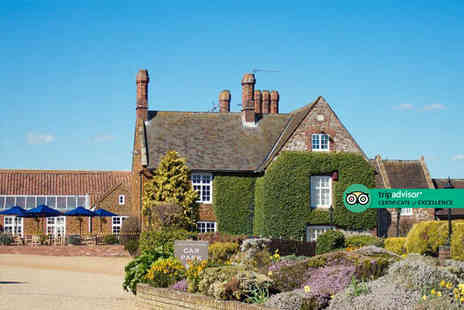 Caley Hall Hotel - Overnight Hunstanton stay for two people with cream tea, breakfast and 12pm late check out - Save 48%