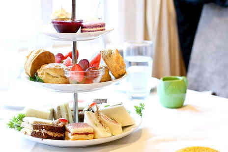 The Bentley Liverpool - Afternoon tea for two people with a glass of mulled wine each - Save 73%