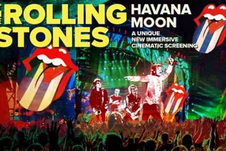 The Rolling Stones - Single standing stall ticket to Havana Moon from 14th To 27th October - Save 52%