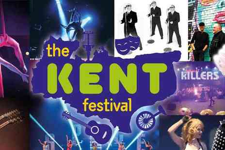 Line of Duty - The Kent Festival, Maidestone Music, Comedy, Pantos Circus and more - Save 73%