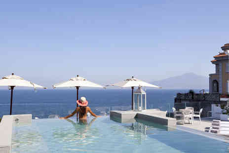 Bargain Late Holidays - Four Star Three nights luxury Sorrento seafront holiday with breakfast and flights - Save 38%
