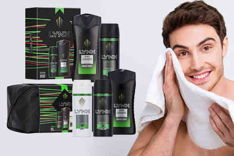 Avant Garde Brands - Lynx Africa duo gift set or Lynx Africa washbag gift set - Save 71%