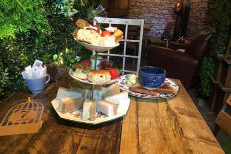 The Chosen Tea Room - Wizardry afternoon tea with cauldron soup for two - Save 36%