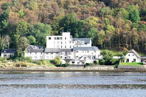 Loch Long Hotel - One night Loch Lomond stay for two with two course meal - Save 50%