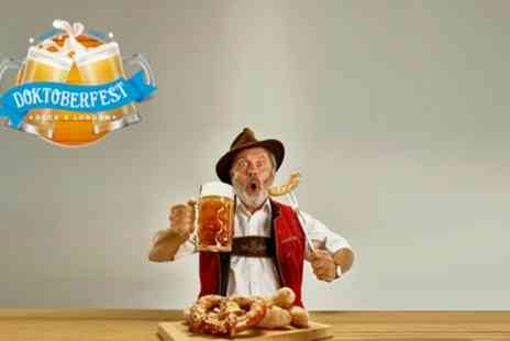 Doktoberfest - One General Admission or Two Category B Reserved Seated tickets from 10th October To 15th November - Save 50%