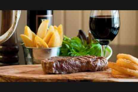 The Pub And Kitchen - Steak or Grill Meal for Two - Save 47%