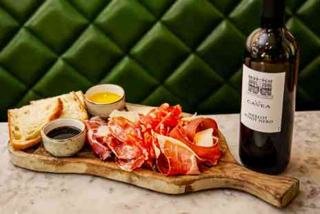 Theo Randalls Simple Italian - Sharing Platter and Bottle of Premium Wine for Two - Save 0%