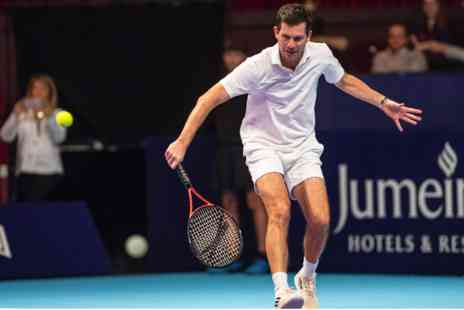 The Royal Albert Hall - Play Tennis with Tim Henman, Champagne and Gourmet Dining - Save 0%