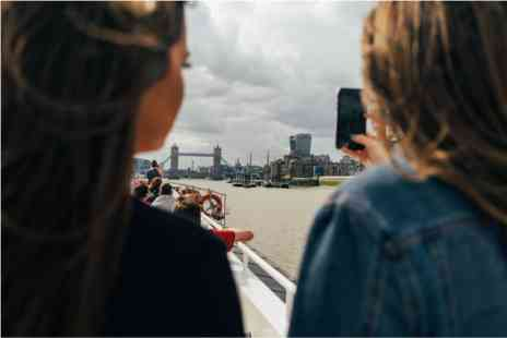 The Shard - Sunday Night London Break with The View Thames Sightseeing Cruise for Two - Save 0%