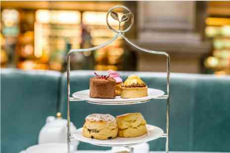 Royal Exchange - Champagne Afternoon Tea for Two at The Fortnum and Mason Bar and Restaurant - Save 0%