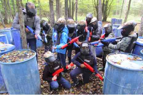 Virgin Experience Days - Family Low Impact Paintball Adventure for Four - Save 0%