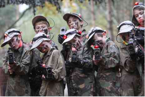 Virgin Experience Days - Family Laser Combat Adventure for Four - Save 0%