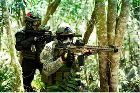 Virgin Experience Days - Airsoft Battle Royale Combat Adventure for Two - Save 0%