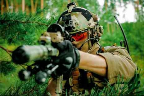 Virgin Experience Days - Airsoft Battle Royale Combat Adventure - Save 0%