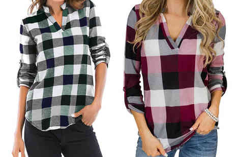 Blu Apparel - Checked shirt - Save 0%