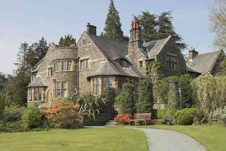 Cragwood Country House Hotel - Overnight Lake District stay for two with breakfast and cream tea - Save 37%