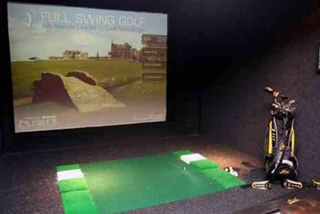 The Green Manchester - Indoor Golf with Nachos and Beer for Two or Four - Save 68%