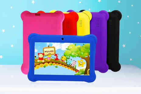 WishWhooshOffers - 7 Inch quadcore tablet with case choose from six colours - Save 72%