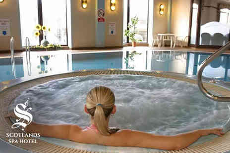 Scotlands Spa Hotel - Spa day and treatment for one - Save 42%