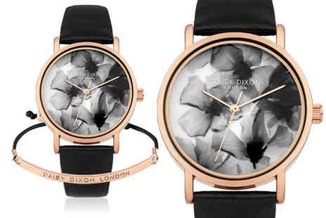Brand Arena - Daisy Dixon Sienna watch with free rose gold bracelet - Save 70%
