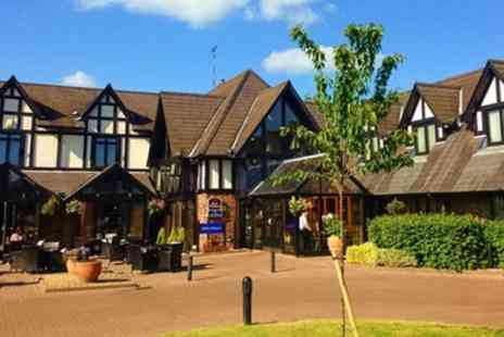 BEST WESTERN The Gables Hotel - Standard Room for Two with Breakfast, Wine and Option for Dinner - Save 0%