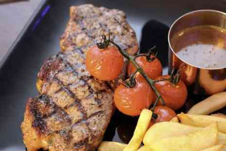 Parlay E18 Bar and Grill - Three Course Meal with Two Cocktails Each for Up to Four - Save 57%