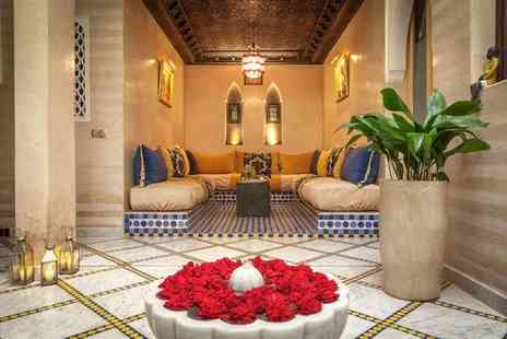 Riad Dar Al Walidine - Arab Andalusian Style Riad in the Medina for two - Save 67%