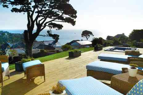Fowey Hall Hotel - Fowey spa day with treatment and cream tea - Save 38%