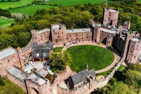 Peckforton Castle - 3 AA Rosette meal with wine - Save 39%