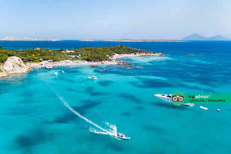 Via Holiday - Four nights Sardinia holiday with breakfast and return flights - Save 25%