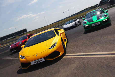 Supercar Test Drives - Three lap junior driving experience, Six laps or Nine laps - Save 80%